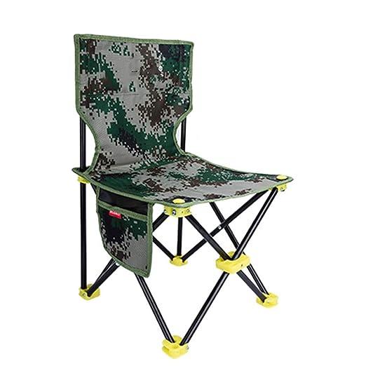 ZCF Doble grueso cojín de tela Oxford silla plegable al aire ...