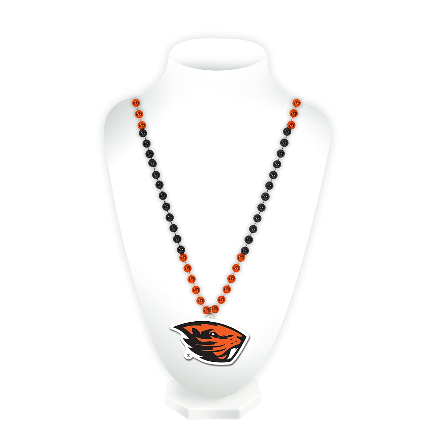Rico Industries NCAA Oregon State Beavers Beads with Logo Medallion