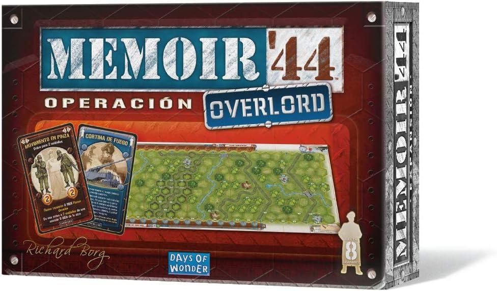 Days of Wonder- Memoir 44: Operación Overlord - Expansión (DOW7388): Amazon.es: Juguetes y juegos