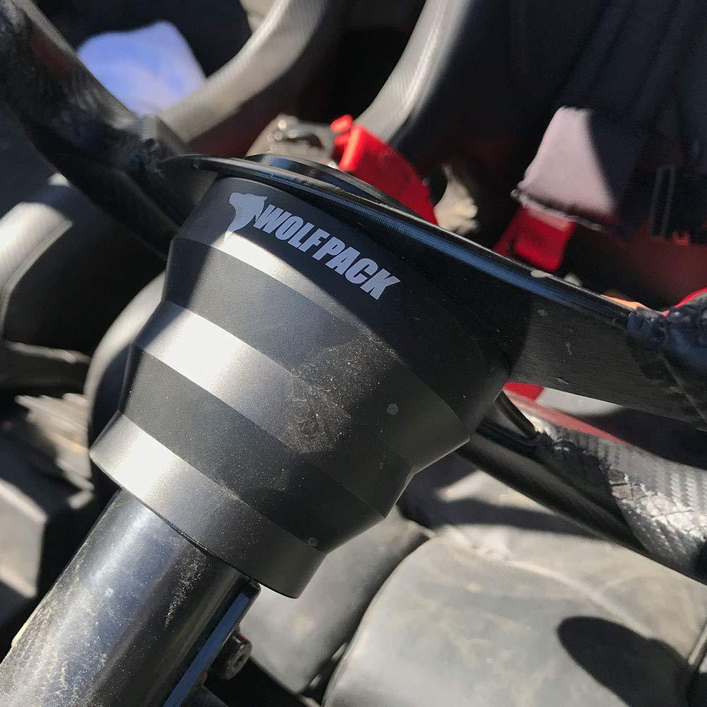 UTV Steering Wheel Hub Adapter Splines Aluminum 5//6 pattern Polaris Wildcat Models Yamaha Can Am X3