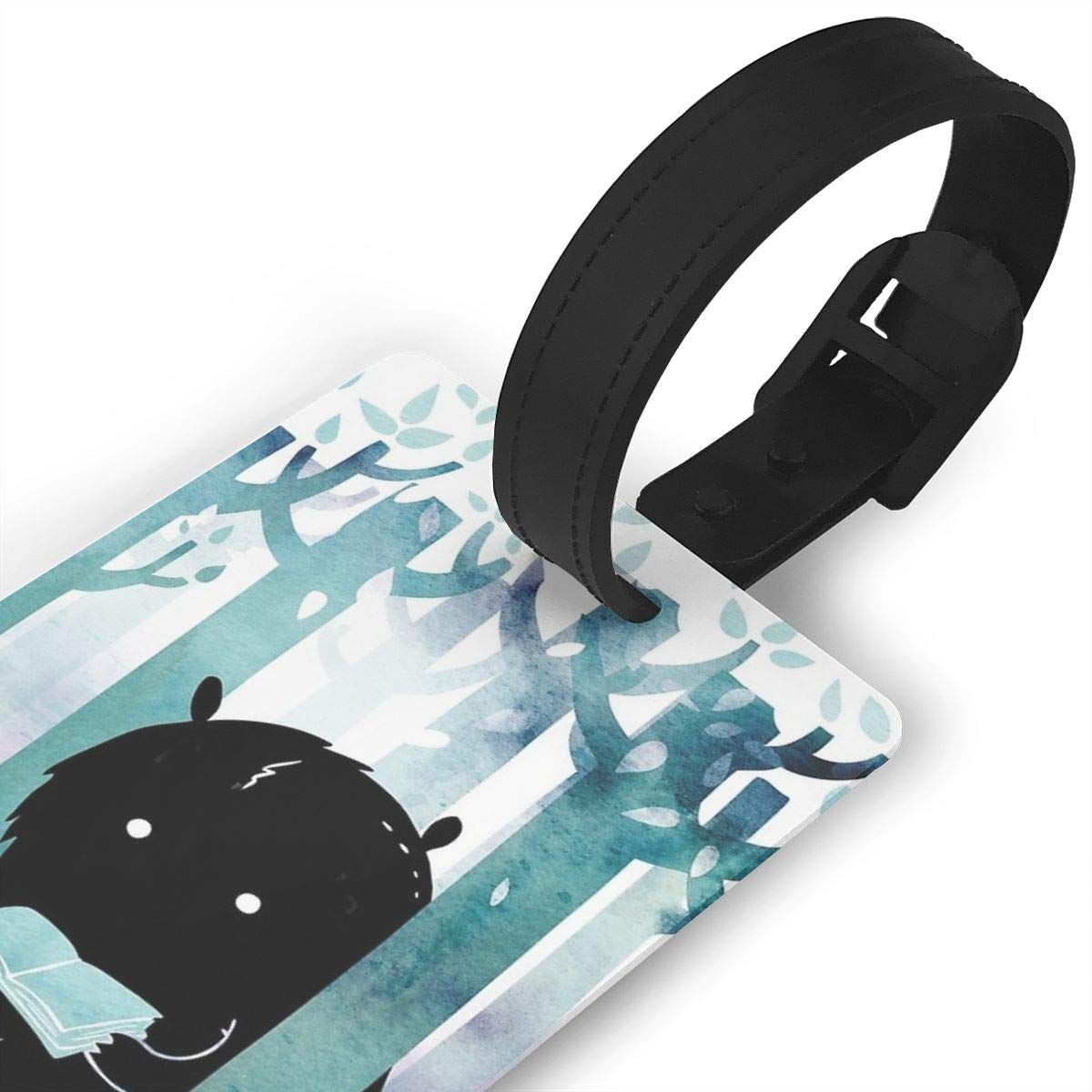 A Quiet Spot Luggage Tags Suitcase Labels Bag Travel Accessories Set of 2