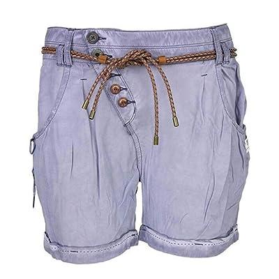 Babao Mujer Shorts Cordón Botón Pantalones Cintura Elástica: Ropa y accesorios