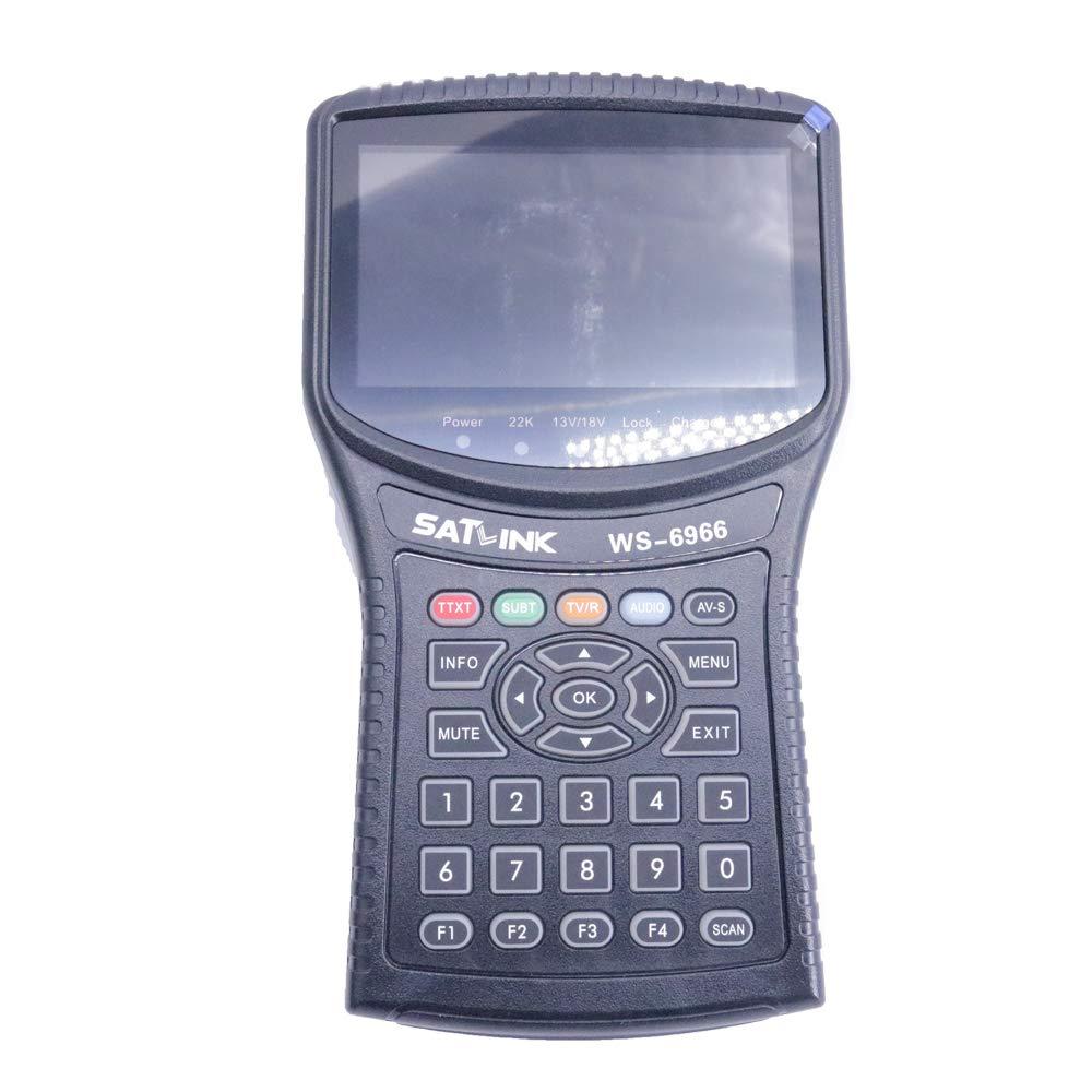 Graigar Satlink WS-6966 Satellite Finder Meter MPEG4 DVB-S2 Meter Satlink WS6966 HD Satellite Finder WS 6966 by Graigar