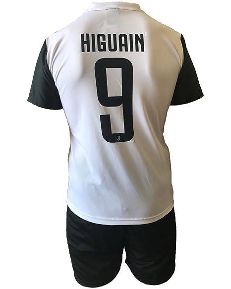 Kit Complete et pantalon Maillot Football Juventus Gonzalo Higuain 9  Réplique Autorisierte Enfant Jeunes Hommes ( 7c43505903e0