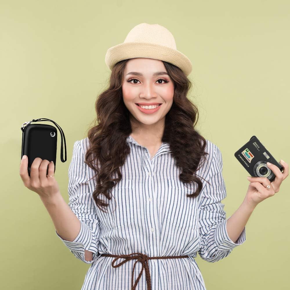 Kameratasche kompatibel mit AbergBest 21 Mega Pixels 2,7 Zoll LCD wiederaufladbar HD Digital Video Studenten Kamera Indoor Outdoor f/ür Erwachsene//Senioren//Kinder