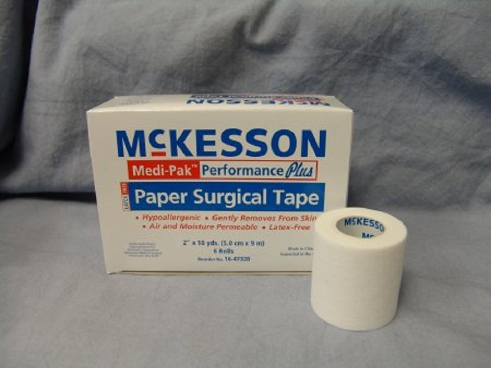 Medi-Pak - Performance Plus - Medical Tape - Silk-Like Cloth 2 Inch X 10 Yard White NonSterile - 72/Case - McK