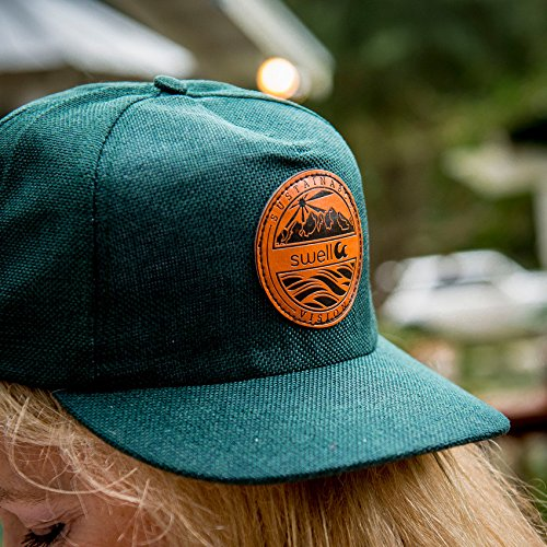 Swell-5-Panel-Forest-Green-Hemp-Hat