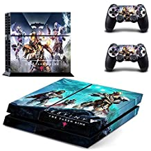 CAN PS4 Console Designer Protective Vinyl Skin Decal Cover for Sony PlayStation 4 & Remote DualShock 4 Wireless Controller Stickers - Destiny The Taken King