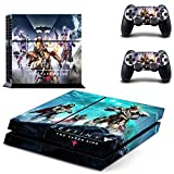 Lucky Store Brand New Destiny The Taken King Designed Skin Sticker Decals for Sony PS4 PlayStation 4 Console and 2 Controllers Skin Covers For Sale