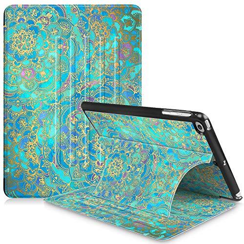 2018 2017 / iPad Air 2 / iPad Air Case - [Multiple Secure Angles] Slim Magnetic Kickstand Protective Cover Auto Sleep/Wake for iPad 9.7