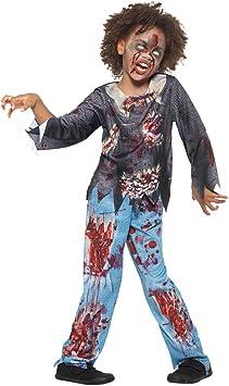 Disfraz de Zombi de Halloween para niña, pantalón y Parte Superior ...