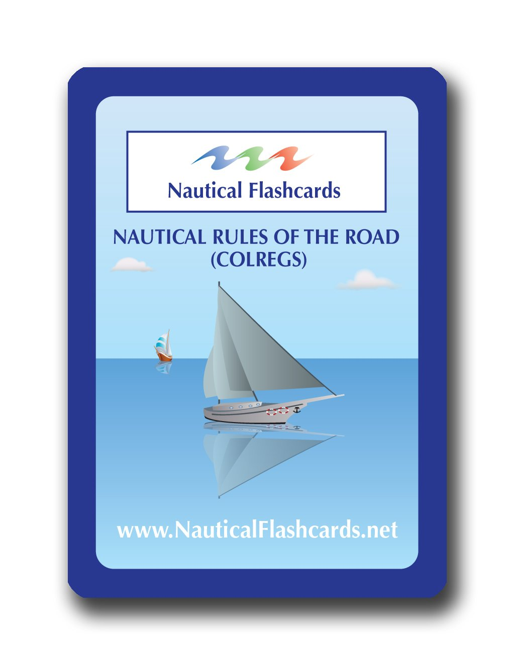 Nautical Flashcards Rules of the Road (COLREGS)