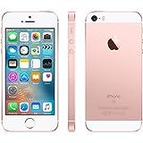 Apple iPhone SE Smartphone débloqué 4G (Ecran : 4 pouces - 128 Go - Nano-SIM - iOS) Rose Or