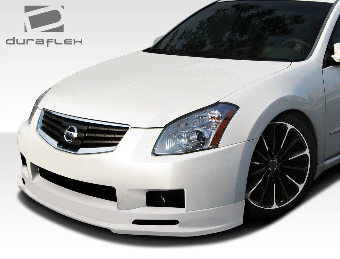 1 Piece Duraflex Replacement for 2007-2008 Nissan Maxima N-Spec Front Lip Under Spoiler Air Dam