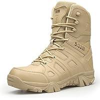 QIKAI Botas Tácticas Magnum Zapatos De Senderismo Al Aire Libre para Hombres Fuerzas Especiales Botas Militares Botas…