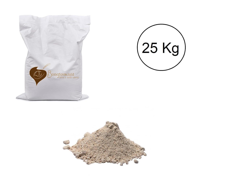 Harina de espelta Integral Mac. cilindros de 25 kg BIO: Amazon.es: Alimentación y bebidas