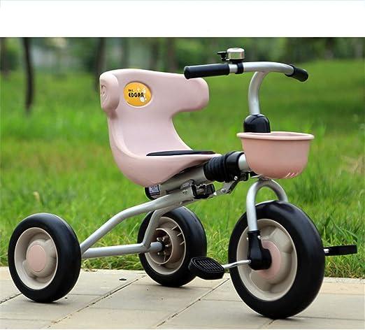 Bicicletas niños Equilibrio Pedal de 3 ruedas Bicicleta Triciclo ...