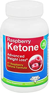 product image for OXYLIFE PRODUCTS RASPBERRY KETONE, 60 CAP