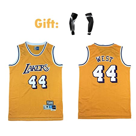 Camiseta para Hombre - Jerry West # 44 Los Angeles Lakers ...