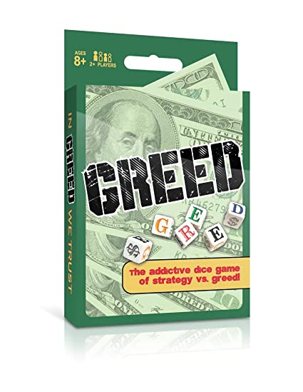 amazon com greed dice game toys games