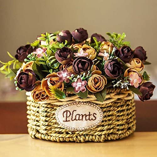 decoración de flores artificiales decoración de flores mesa de ...
