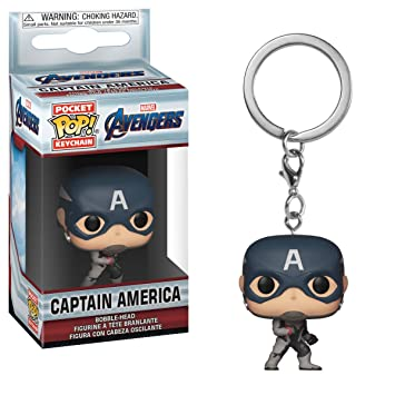 Horror-Shop Vengadores - Llavero del Capitán América Funko ...