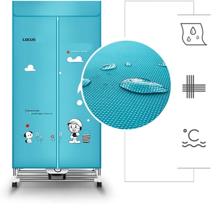 FORWIN UK- Muda doméstica Ahorro de energía Desinfección de Alta Temperatura Armario seco Secadora portátil de Doble Capa Plegable
