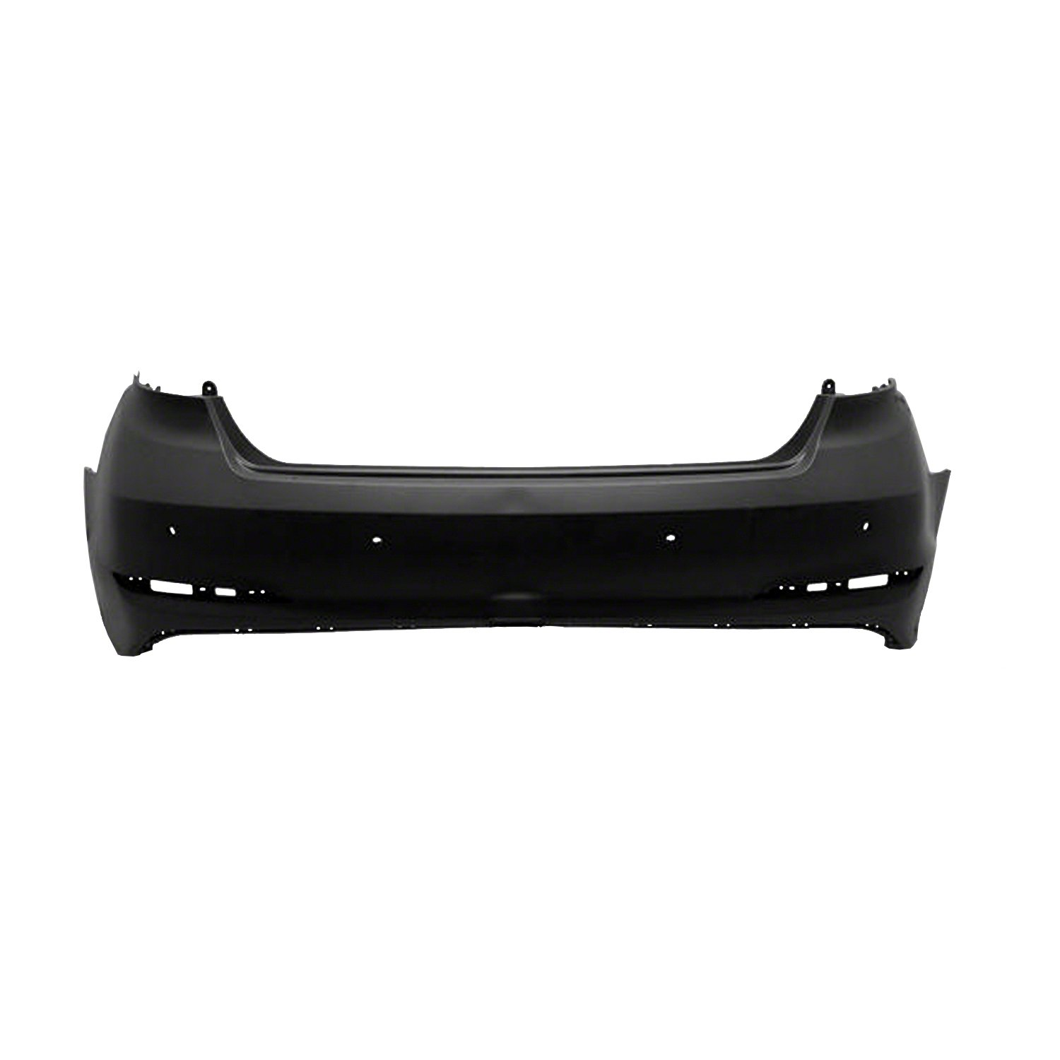 PartsChannel HY1100206R OE Replacement Bumper Cover Hyundai Sonata 2015-2017