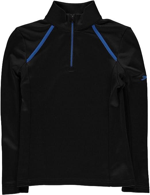 Slazenger Boys Long Sleeve Hoodie Top Jumper sizes 7 8 9 10 13 Colour Dark Grey