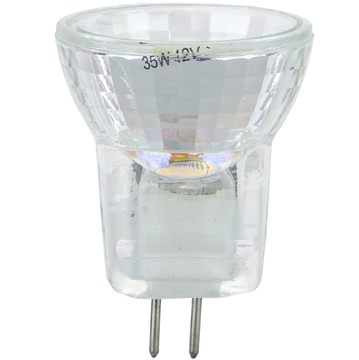 Sunlite 35MR8 CG SP 12V 35 Watt Halogen MR8 G4 Based Mini Reflector Bulb Cover Guard