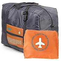 FEMODA Unisex 32L Waterproof Folding Bag Luggage Travel Handbags Orange