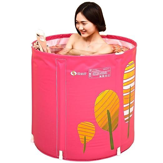 Piscinas hinchables XULAN Barril de baño Barril de baño para ...