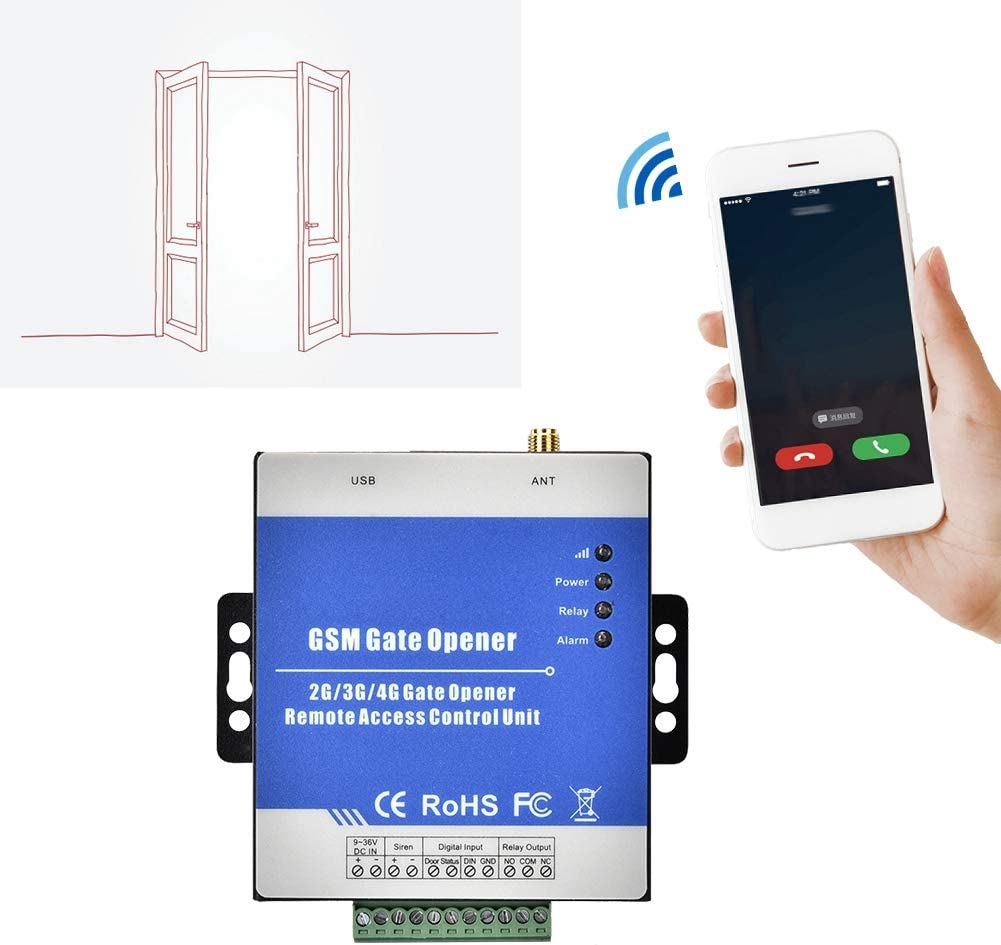 RTU5025 GSM Gate Opener Wireless Garage Door Access Cellphone Remote Control
