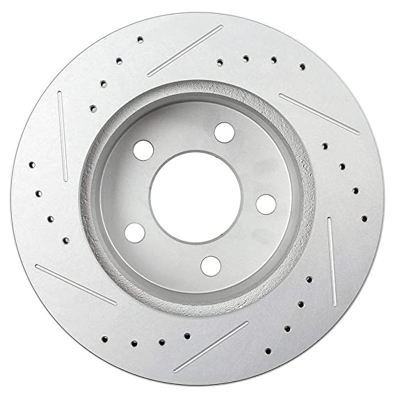 Front Brake Rotors for 1990 1991 1992 1993 1994 1995 1997 1998 1999 JeepWrangler
