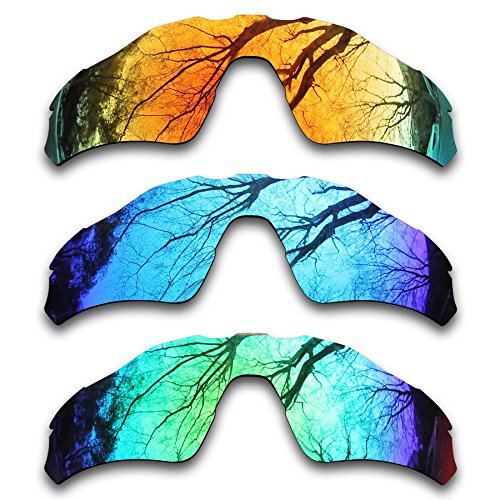 ToughAsNails 3Pair Polarized Replacement Lenses for Oakley Radar EV Path Pack-IFE4 by ToughAsNails