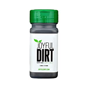 Joyful Dirt Concentrated All Purpose Organic Fertilizer and Plant Food. Easy Use Shaker (2 oz)