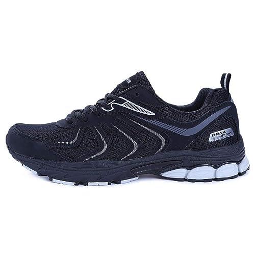 Zapatillas de Trekking para Hombres Zapatos de Escalada para Correr con Cordones para Correr al Aire Libre Zapatillas de Trekking para Correr de Cuero para ...