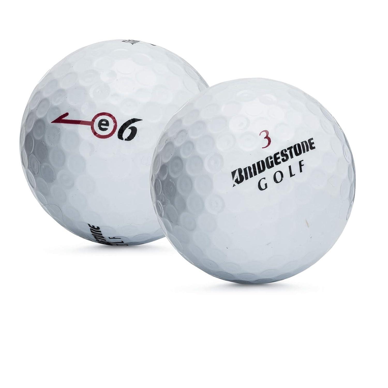 36ブリヂストンe6ゴルフボールwith使用ミントトートバッグ B077Y521WV