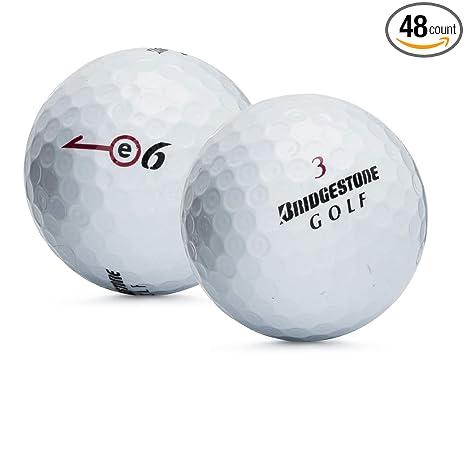 Bridgestone Near Me >> Amazon Com Bridgestone 48 E6 Near Mint Used Golf Balls Sports