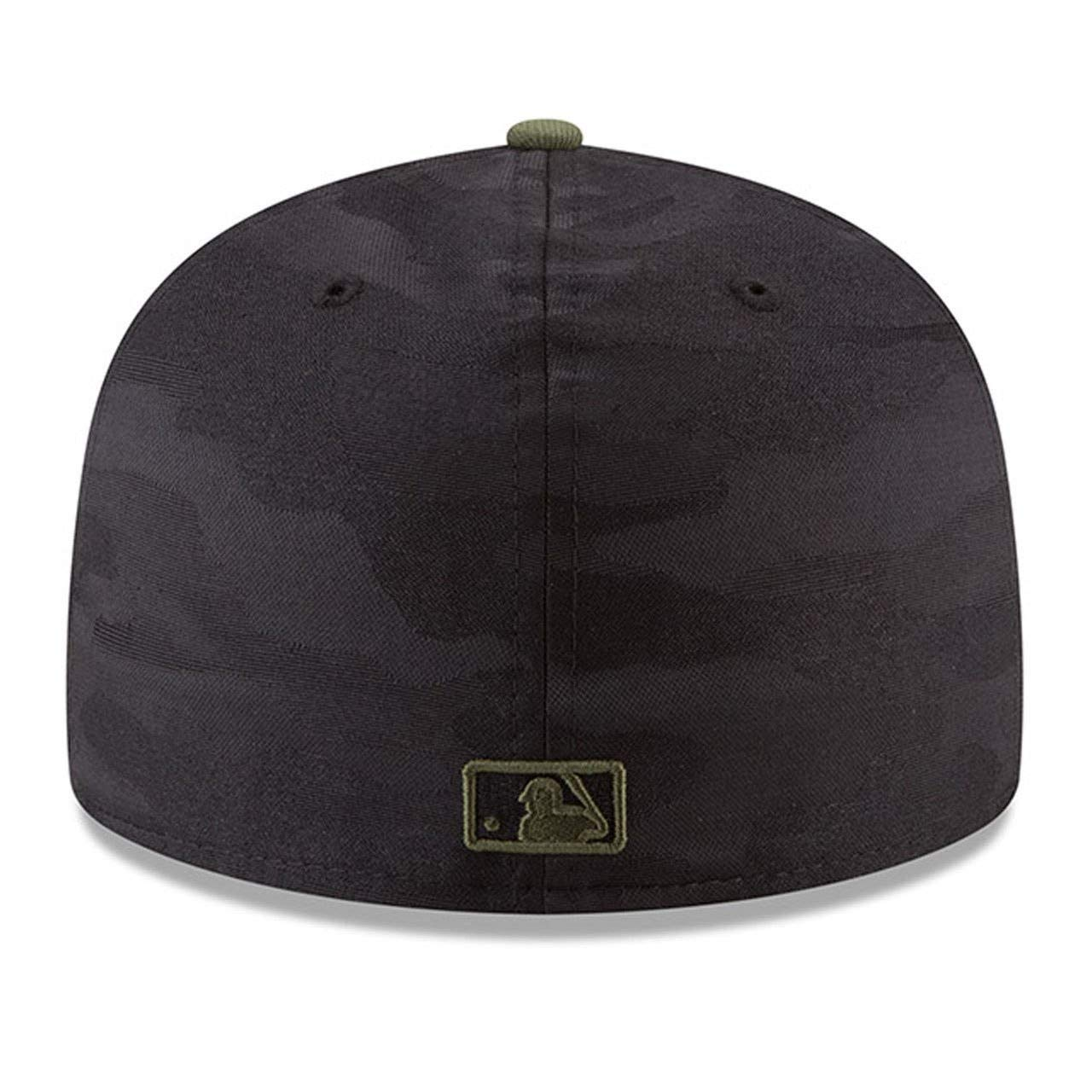 Black//Olive New Era Baltimore Orioles 2018 Memorial Day On-Field 59FIFTY Fitted Hat