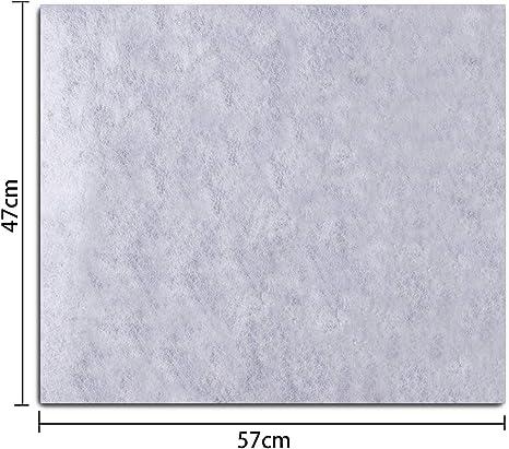 2pcs Filtre Hotte Aspirante Cuisine /à Charbons Actifs Filtre Universel pour Hotte Aspirante 57 x 47 cm Anti Graisse Anti Odeur