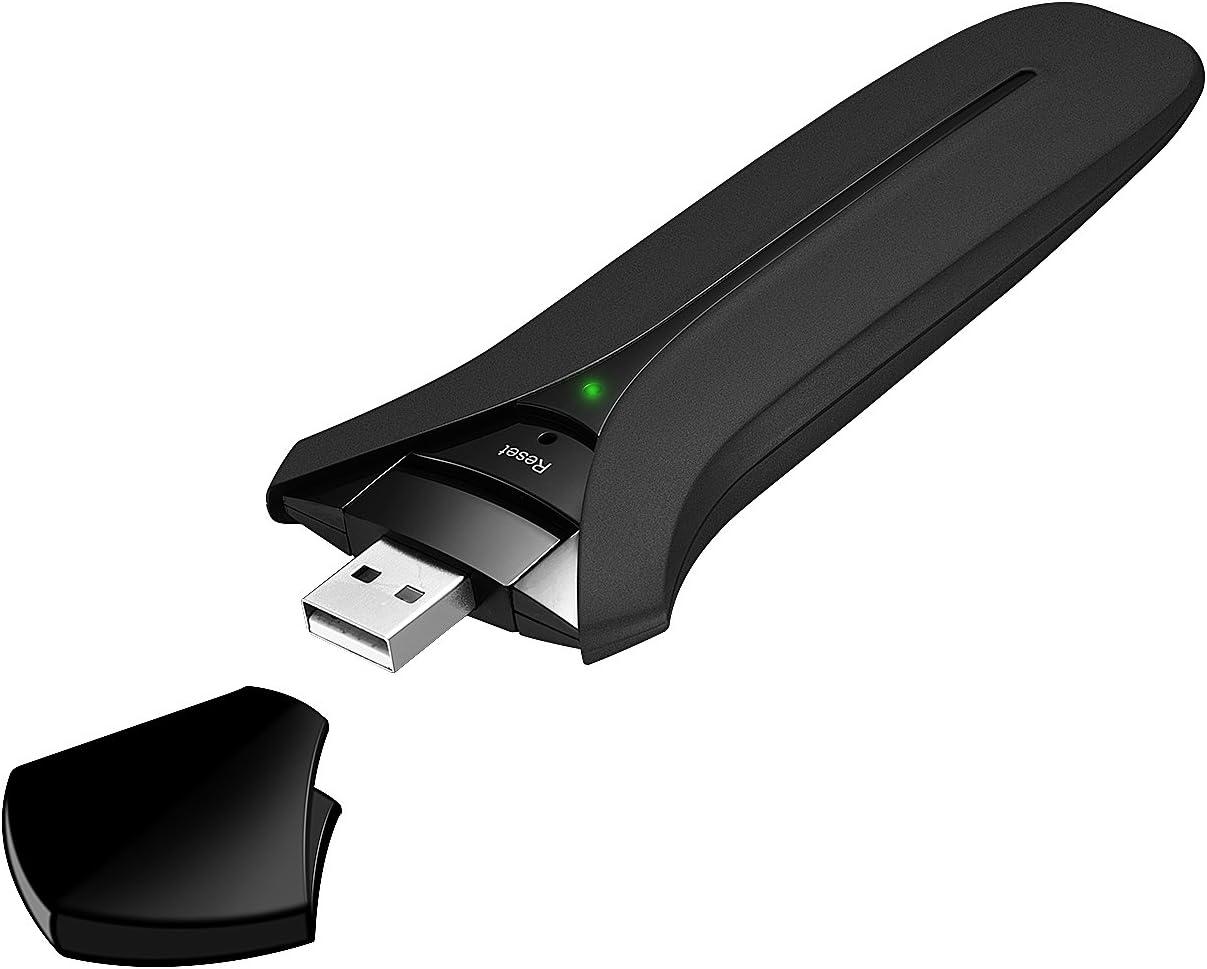 VicTsing Adaptador Antena WiFi USB de Largo Alcance ...
