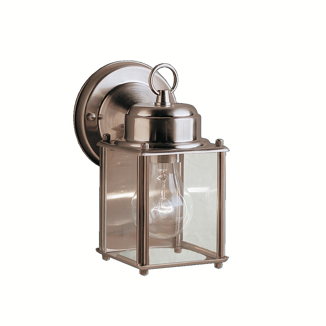 Kichler 9611SS One Light Outdoor Wall Mount - Wall Porch Lights ...