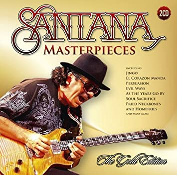 Santana masterpieces: the gold edition (2014) flac (image +. Cue.