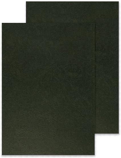 Q-Connect Tapa De Encuadernación Cartón Din A4 Negro Simulación ...