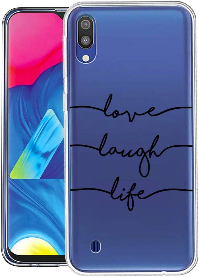 Qissy Compatible with Samsung Galaxy M10 Funda Carcasa para ...