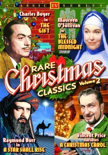 Rare Christmas TV Classics - Volume 2 (The Gift / The Blessed Midnight / A Star Shall Rise / A Christmas Carol) (DVD) (1950) (All Regions) (NTSC) (US Import)