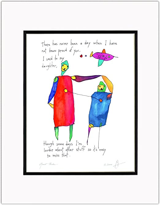 Quiet Pride Daughter Storypeople Print By Storypeople Amazon In