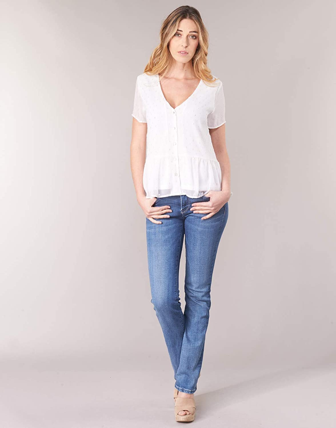 Pepe Jeans Piccadilly Jeans Femmes Blu//Clair Jeans Bootcut