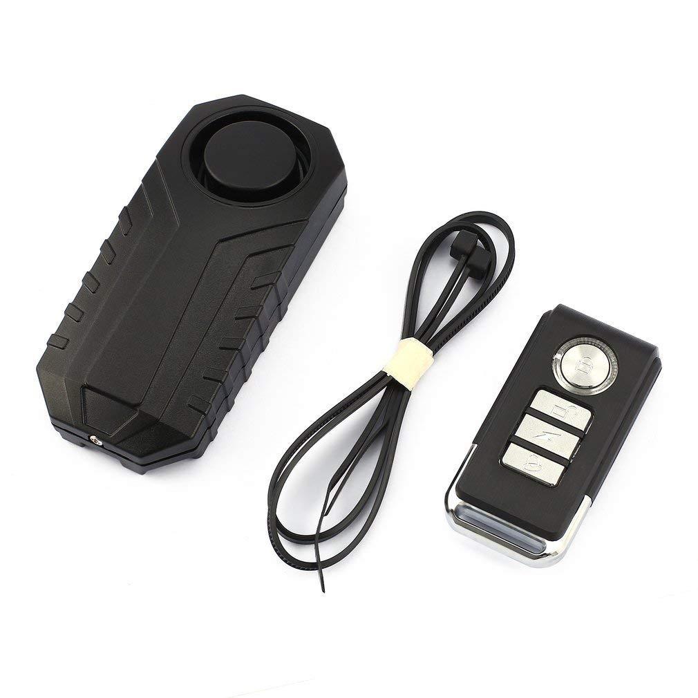 Sunsbell Drahtlose Fernbedienung Alarm Fahrrad-Auto-Vibrationsalarm-Sicherheitsschloss
